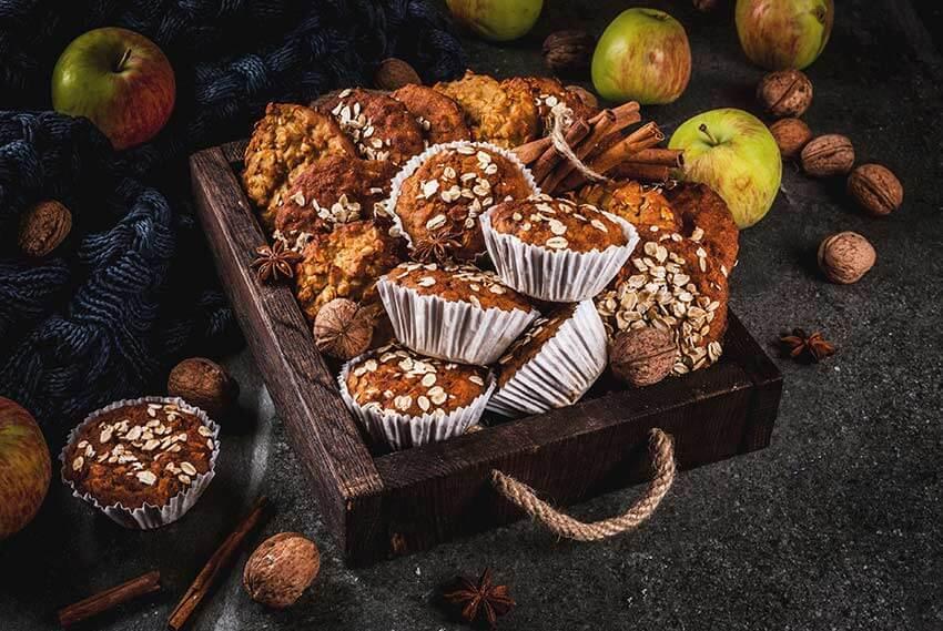 מאפינס תפוח עץ